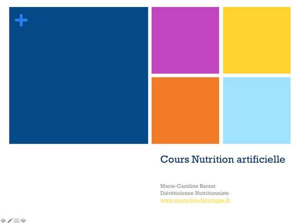 Régime RI-04-La nutrition artificielle