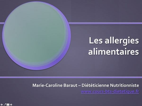 Régime RII-016-allergies alimentaires