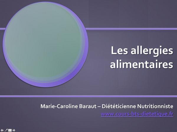 Régime RII-016-allergies alimentaires