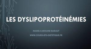 Dyslipoprotéinémies