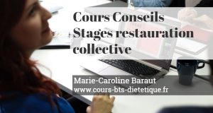 Cours conseil restauration collective