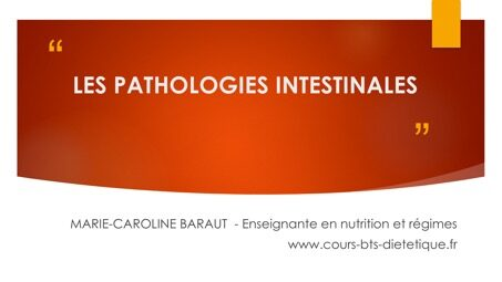 Les pathologies intestinales