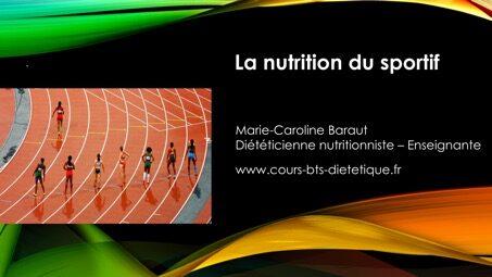 nutrition sportif