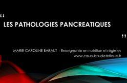 pathologies pancréatiques