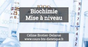 Biochimie Mise a niveau