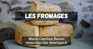 Connaissance des aliments Fromages