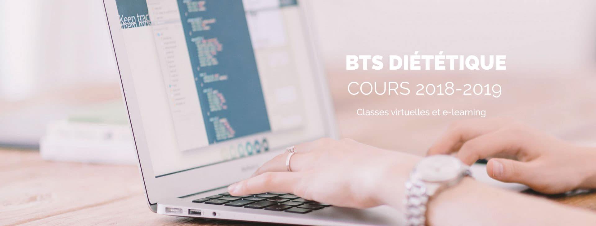 COURS BTS DIÉTÉTIQUE Classes-virtuelles-et-e-learning_2018-2019