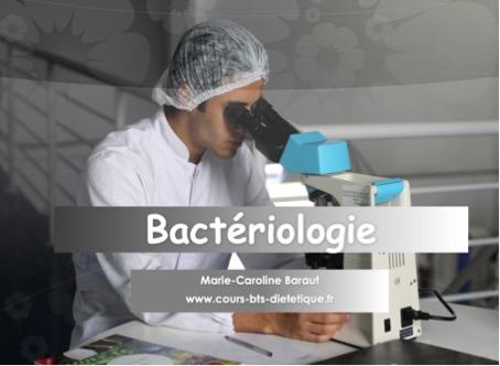 Bactériologie en BTS Diététique