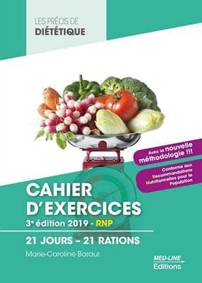Cahier exercices cours bts dietetique 20 jours 20 rations