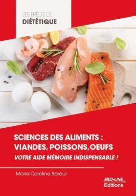 Précis de diététique de Marie-Caroline Baraut Sciences des aliments viandes, poissons, oeufs